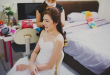 Actual Day Wedding of Wen Qi and Cheryn by Susan Beauty Artistry