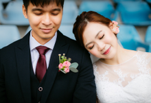 Actual Day Wedding of QB and Cherie by Susan Beauty Artistry