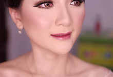 Wedding makeup for Ms. Hevi  by Suzuko Muto Makeup Artist