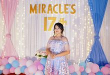 Sweet 17 Birthday of Miracle by Tong Hua Event Planner