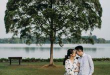 Stefanus & Via Singapore Prewedding by Teora Photography