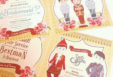 Palembang Bridesmaid Theme by Port of Tasya