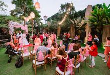 Garden Wedding at Segara Bambu Bali by Tong Hua Event Planner