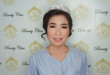 Makeup n hair do Mrs Ella  for holy matrimony  by Sweetie bridal