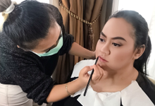 soft makeup for bridesmaid  by Sweetie bridal