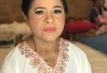 Makeup n hair do for mom of groom by Sweetie bridal