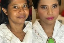 Makeup n hair do for sister of groom by Sweetie bridal