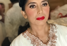 Makeup n hair do for mom of the Bride  by Sweetie bridal