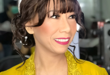 Makeup n hair do wig  by Sweetie bridal