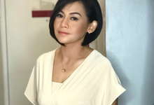 Makeup n hair do for Mrs Dachi by Sweetie bridal