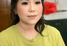 Makeup for family bride by Sweetie bridal