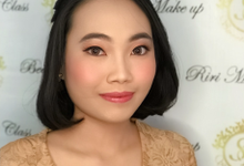 Makeup for wisuda Ms Felicia  by Sweetie bridal