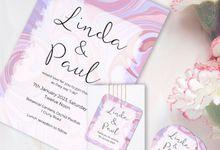 Swirl Wedding Invitation by Gift Elements
