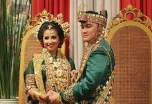 Resepsi Pernikahan Adat Bugis Karin & Acho by CARI WEDDING ORGANIZER