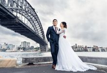 Under Sydney Bridge Wedding by Orna Binder Wedding Celebrant