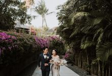 Cliffside Wedding Reception of Tommy & Imelda by Vilia Wedding Planner