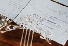 Wedding Favours and Gift from Tommy & Imelda Wedding by Vilia Wedding Planner