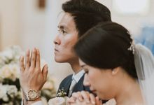 Catholic Wedding Ceremony of Tommy & Imelda by Vilia Wedding Planner