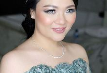 Reception Look by Beyond Makeup Indonesia