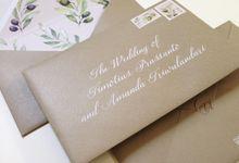 Timotius & Amanda Weeding Invitation by Gracia The Invitation