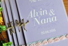 The Wedding of Alvin & Nana by TalkingCard