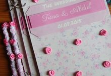 Guestbook Tiara & Abdul by TalkingCard