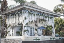 Nautical Wedding decoration at The Ungasan by Silverdust Decoration