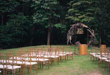 Rustic Wedding Outdoor by I HEART PARTY