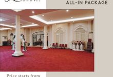 OUR VENUE - ARCADIA FUNCTION HALL TANGERANG by Alissha Bride