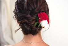 Bridal Hairdo by TangYong Hair & Makeup