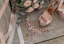 Rose Gold accessories  by Tanissa Jewelry