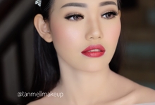 Wedding makeup by tanmell makeup