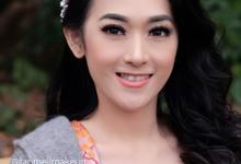 Japan's Prewedding Makeup by tanmell makeup