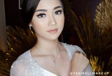 Demo makeup at bridestory market by tanmell makeup