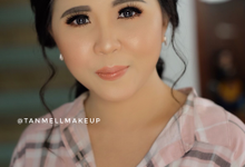 Wedding Makeup for brides to be  by tanmell makeup