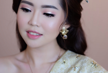makeup n hairdo for holy matrimony by tanmell makeup