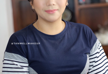 Wedding test makeup for miss ana by tanmell makeup