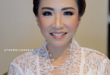 wedding makeup for sheila by tanmell makeup