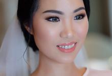 wedding makeup for anastasia  by tanmell makeup