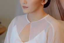 wedding makeup n hairdo for ariyanti by tanmell makeup
