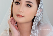 Wedding airbrush makeup by tanmell makeup
