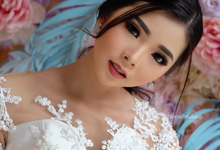 airbrush wedding makeup by tanmell makeup