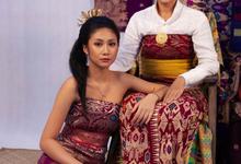 Balinese Photoshoot Concept Mother & Daugther by Tari Yuliana Makeup Hair