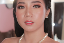 Thai Look for Bride Ms Bella by Tari Yuliana Makeup Hair