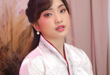 Korean Look with Hanbok by Tari Yuliana Makeup Hair
