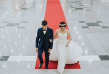 Tamara & Billy Reception Wedding by  Menara Mandiri by IKK Wedding (ex. Plaza Bapindo)