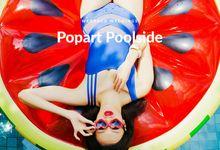 Pop Art Poolside by Everitt Weddings