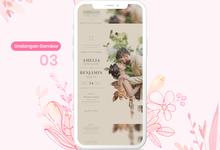 Undangan Pernikahan Digital Gambar by Ikatan Hati