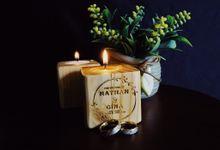 Paal Wedding - souvenir pernikahan tempat lilin isi goodie bag custom by Mendekor