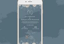E-Invitation |  Undangan Pernikahan Digital SI-022 by ANYELIR STUDIO
